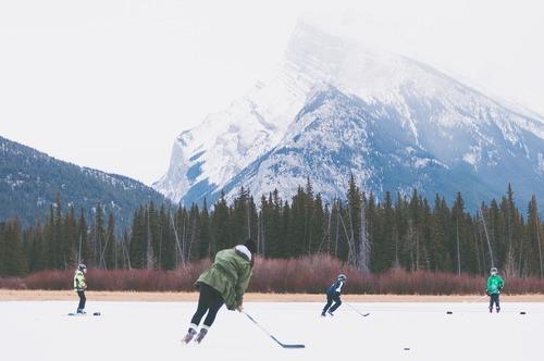Försäsongsträna inför hockeysäsongen